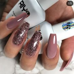 "48.6k Likes, 254 Comments - Wake Up and Makeup (@wakeupandmakeup) on Instagram: ""These nails @riyathai87 repost @hudabeauty """