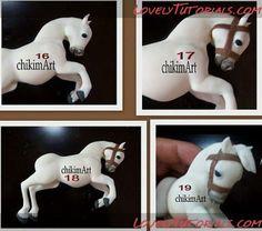 Конь,Лошадь,caballo,cheval,cavallo,konja ,koně - Мастер-классы по украшению тортов Cake Decorating Tutorials (How To's) Tortas Paso a Paso