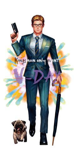 Kingsman Suits, Kingsman Movie, Kingsman The Secret Service, Taron Egerton, Detroit Become Human, Spiderman, Illustration Art, Character Design, Manga Anime