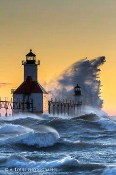 St Joe, MI lighthouse