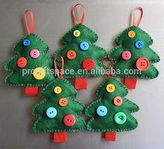 felt ornament crafts - Google Search