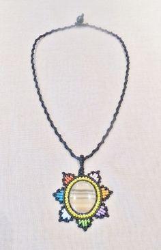 Weiteres - Kette Edelstein Cascada de colores mit Fluorit - ein Designerstück von Sunnseitn bei DaWanda
