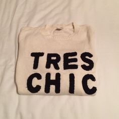 Forever 21 TRES CHIC Sweater Forever 21 TRES CHIC Sweater. So many compliments! Cotton and nylon. Worn Forever 21 Sweaters Crew & Scoop Necks