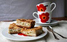 Mesiangervoinen rahka-raparperipiirakka French Toast, Breakfast, Food, Morning Coffee, Essen, Meals, Yemek, Eten