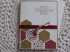 Handmade Greeting Card: Joyful Christmas Wishes