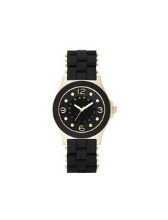 Marc by Marc Jacobs 36.5MM Pelly w/ Gold Indexes $200