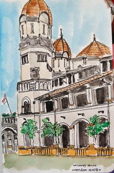 ..Lawang Sewu, Semarang - Central Java - Indonesia.. One of heritage building of Dutch relic