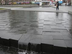 General Gordon Square, Woolwich - Water Feature