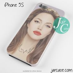 Angelina Jolie Red Lips Phone case for iPhone 4/4s/5/5c/5s/6/6 plus