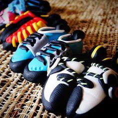 100% handmade | #notwoalike #climbing #rockclimbing #climbingshoes | bitly.com/heelhooks
