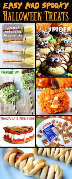 30+ Easy and Spooky DIY Halloween Treats
