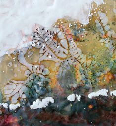 Artist Jo Sheppard describes the techniques and methods of encaustic painting using coloured waxes Encaustic Painting, Natural Forms, October, Clay, Landscape, Abstract, Artist, Image, Clays