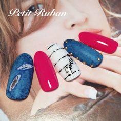 Manicure Nail Designs, Nail Manicure, Spring Nails, Summer Nails, Japan Nail, Cute Nail Art Designs, Pretty Nail Art, Pastel Nails, Nail Arts