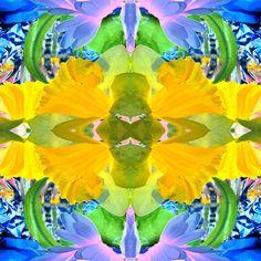 Sunnyness Spring Flower Mix BethofArt at Redbubble.com