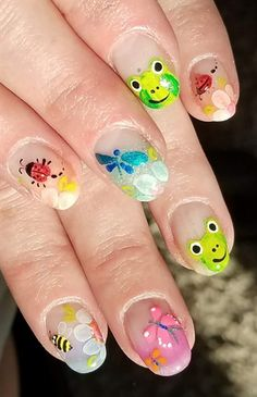 Nails by Amy Masters by from Nail Art Gallery Kawaii Nail Art, Cute Nail Art, Cute Nails, Perfect 10 Nails, Nail Studio, Nail Art Galleries, Nails Magazine, Summer Nails, Masters