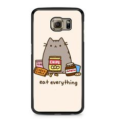 Pusheen The Cat Eat Every Thing Samsung Galaxy S6 Case