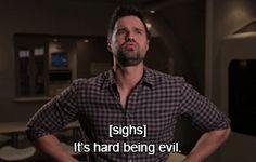 It's hard being evil. || Brett Dalton || The Watcher || 275px x 175px || #animated #promo