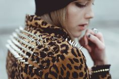 #Grunge #Goth #Dark #Fashion #Studded #Leopard #NitroFashion