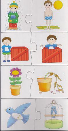 PUZZLE 2 – Jana-Nur D. – Webová alba Picasa Kindergarten Activities, Preschool Activities, Teaching Kids, Kids Learning, Montessori, Emergent Literacy, Sequencing Cards, File Folder Activities, Classroom Board