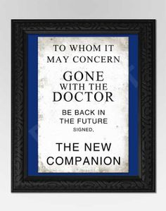 Doctor Who Inspired Art Print Companion Door by GeekQueenDesigns Doctor Who, 13th Doctor, Don't Blink, Back To The Future, Geek Out, My Tumblr, Dr Who, Tardis, Just In Case