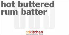 hot buttered rum hot buttered rum by clara hot buttered lemon garlic ...