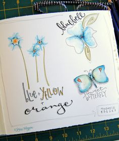 elvie studio: inspiration monday, art journal inspiration