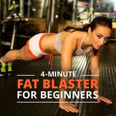 4 Minute Fat Blaster for all Fitness Levels #4minuteworkout #workouts #quickworkouts