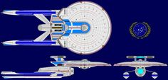 USS Titan Pre TNG Era by kavinveldar on DeviantArt