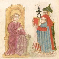 Weltchronik. Sibyllenweissagung. Antichrist  BSB Cgm 426, Bayern,  3. Viertel 15. Jh  Folio 118