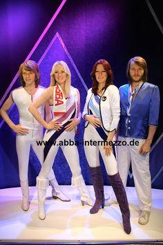 ABBA-Figuren im Museum - © Micke Bayart // ABBA The Museum hat seine größte Attraktion seit der Eröffnung im Mai 2013 vorgestellt. Vier lebensgroße Nachbildungen der ABBA-Mitglieder Frida, Agnetha, Björn und Benny aus Silikon, in ihren legendären Bühnenkostümen von 1979