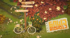 ✿Roli Cannoli CC Findz Corner✿ — forgottengrotto: 🚲🍂 sadie bicycle [override]... Sims Building, Sims 4 Cc Packs, The Sims 4 Download, Sims 4 Cc Finds, Bistro Set, Cottage Living, Less Is More, Sadie, Beautiful World