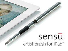 iPad brush.