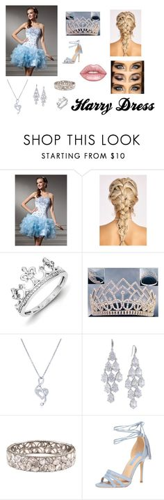 """""""Fall Homecoming"""" by reina-cece on Polyvore featuring Kevin Jewelers, BERRICLE, Carolee, Lorraine Schwartz, Dorothy Perkins and Lime Crime"""