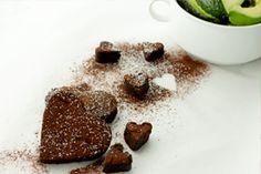 Heart Shaped California Avocado Brownies Recipe   California Avocado Commission