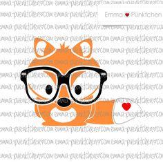 """∙ • Plotterdatei """"Fridolin Fox"""" • ∙ von Emma & Pünktchen DIY auf DaWanda.com"""