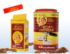 Ground 'Cremador' coffee in vacuum-sealed can, Passalacqua