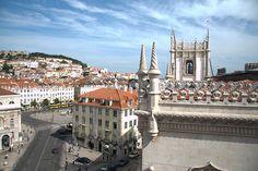 Avenida Palace hotel terrace, Lisbon (Portugal)