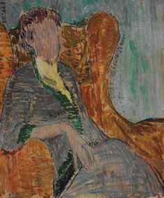 Virginia Woolf - Vanessa Bell - The Athenaeum Clive Bell, Duncan Grant, John Duncan, Vanessa Bell, Bell Art, Bloomsbury Group, People Figures, Virginia Woolf, Figurative Art