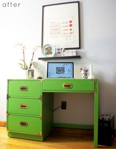 The ugly desk makeover