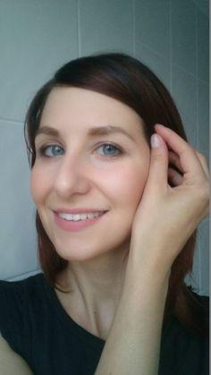Vorher-Nachher-Effekt mit dem Brow Satin von Maybelline für die Augenbrauen
