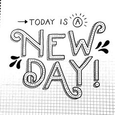 Happy Monday! I hope your day is filled with love and #sunshine! #design #lettering #typography