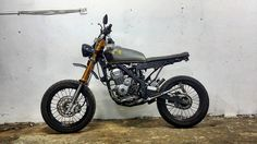 """Another custom project a.k.a masterpiece just reveal.... we make just like """"girl in chemise"""" from zero to hero... from std kawasaki klx 150 going to classic scrambler a.k.a modern tracker... btw thanks boss coz belive in us to custom your lovely bike... keep support us... #dimotorsport #dimanaadakemahuandisituhabisduit #kauretardakumotard #kawasaki #klx150l #klx150s #custombodywork #bradstyle #caferacer #streettracker #caferacermalaysia #malaysia #classic #moderntracker #customculture…"""