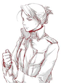 FMA - Riza Hawkeye <----- One hella strong and likeable character.