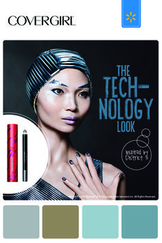 Love these nail colors. Get the Flamed Out products that make up The Technology Look - The Hunger Games COVERGIRL #CapitolLooks Collection @Walmart