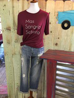 Mas Sangria $40.00 www.whiskeyraysboutique.com