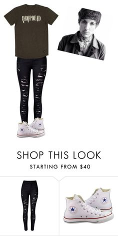 """""""Untitled #349"""" by pierce-the-jayda ❤ liked on Polyvore featuring Sykes and Converse"""