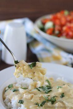 Cheesy Sour Cream Chicken - Taste and Tell