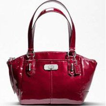 Coach Chelsea Small Hand Bag in Red Patent Leather. WANT.