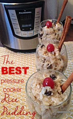The Best Pressure Cooker Rice Pudding (and a review of the Fairwind FWPC6L Pressure Cooker) ad