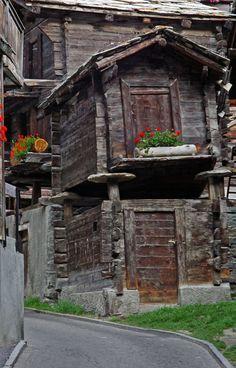 Old Town Zermatt - Zermatt, Valais, Switzerland